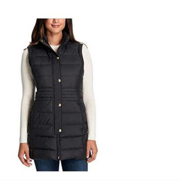 599e6e1ba4d49 Weatherproof Ladies  Long Down Vest. M 5a89ab9ca6e3ea89d6a2e2f5